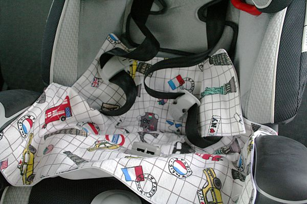 waterproof carseat liner for any size style car seat. simple and easy how to tutorial