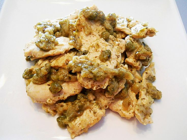 capers anchovies chicken
