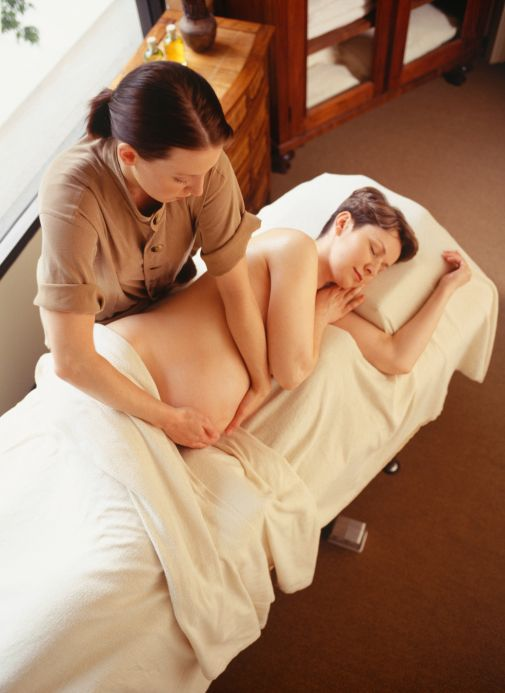 """Position Matters in Pregnancy Massage,"" by Phyllis Hanlon #pregnancy #massage"