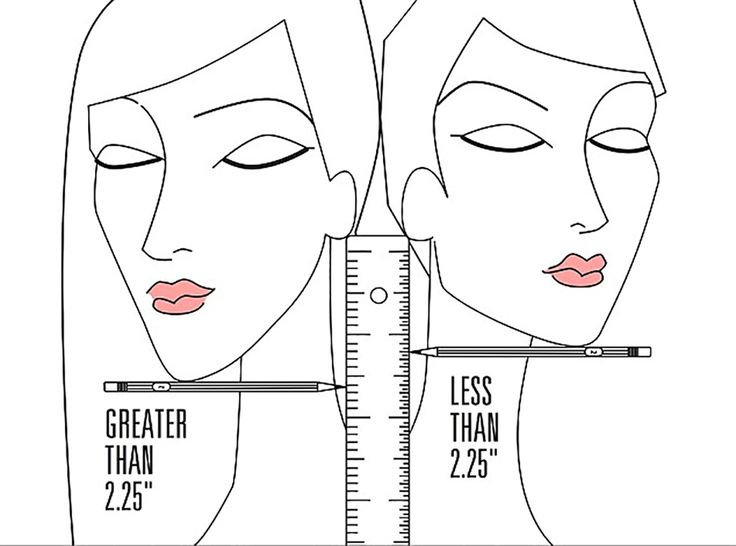 This Trick Will Help You Decide Once and for All if You Should Cut Your Hair via Brit + Co.