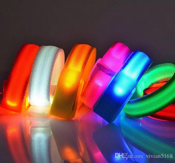 Fashion Led Bracelet Bangle Light Up Flashing Glowing Bracelet Blinking Warning Bracelets Disco Bar Party Supplies Christmas Gift Enamel Bangle Gold Bangles Images From Vivian5168, $1.51| Dhgate.Com
