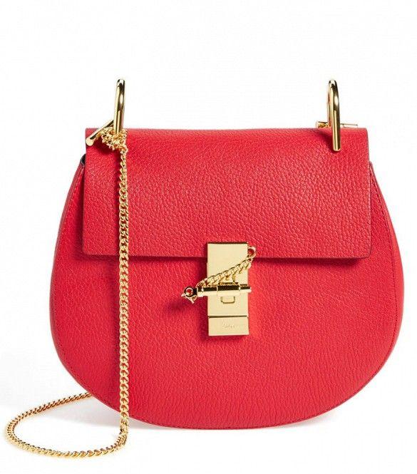 Drew Leather Crossbody Bag by Chloe