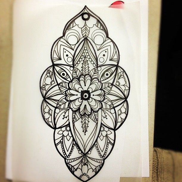 TattoosKid 20 Best Images About Dotwork On Pinterest Mandala Flower Tattoo
