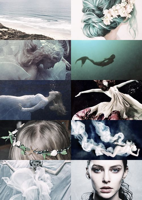 frerin:MYTHOLOGY MEME -> NEREIDSΝηρηΐδες are sea nymphs, and especially distinct from Sirens as they are helpful to sailors. Notable nereids include the mother of Achilles andAmphitrite the wife of Poseidon, who often personified as the sea itself.for qreenleafs