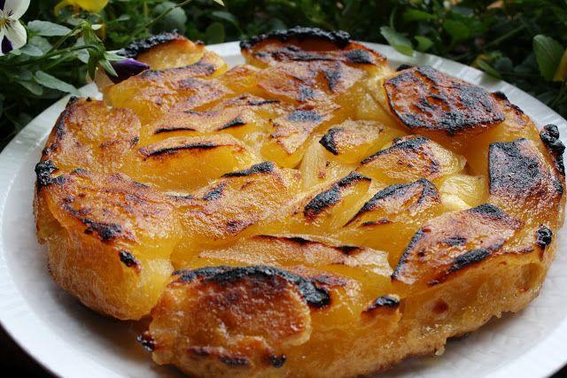 La dieta mediterránea de nuestra familia: Tarta Tatin (sin gluten, azúcar ni lactosa), seman...