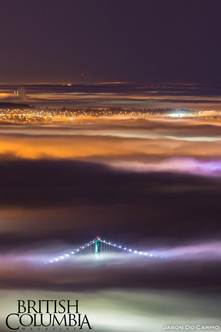 Lions Gate Bridge from Above