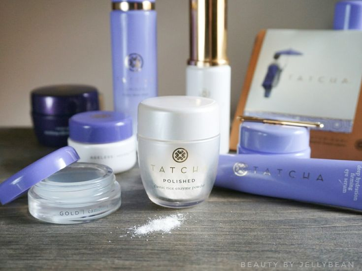 Tatcha is one of my favorite luxury skincare brands, so I thought I'd share a few of my favorite products.