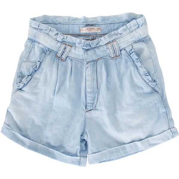SuperTrash Girls Shorts Poon ($75) ❤ liked on Polyvore
