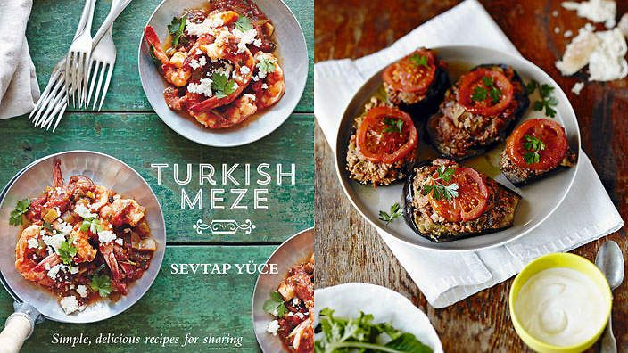 Turkish Meze by Sevtap Yüce. The food of Turkey: colourful, inviting and designed for many mouths.