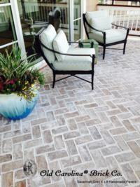 Savannah Grey 4' x 8' Pavers - back and side patio