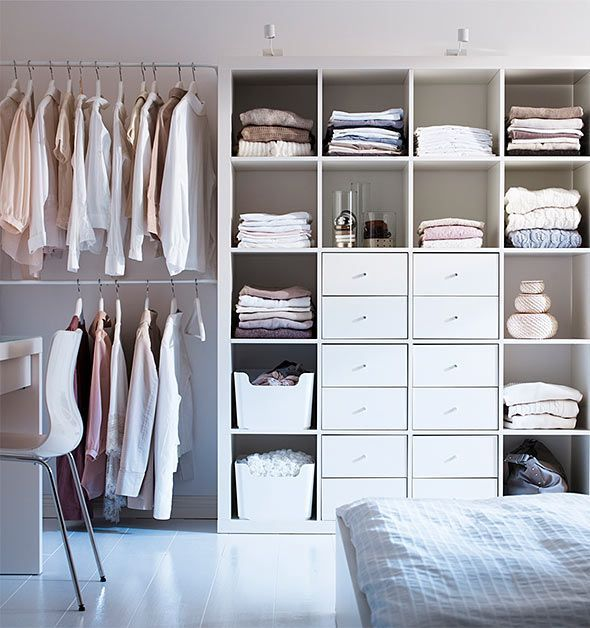 Mulig Kleiderstange, Expedit Regal, Ikea