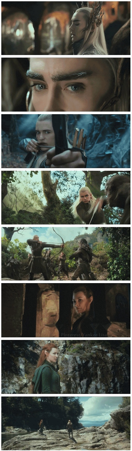 I already mindlessly hate all of them except Legolas, who is cool in LOTR, and Tauriel, who appears to be pro-Dwarf. NO ONE SHOOTS AT MY DWARVES!