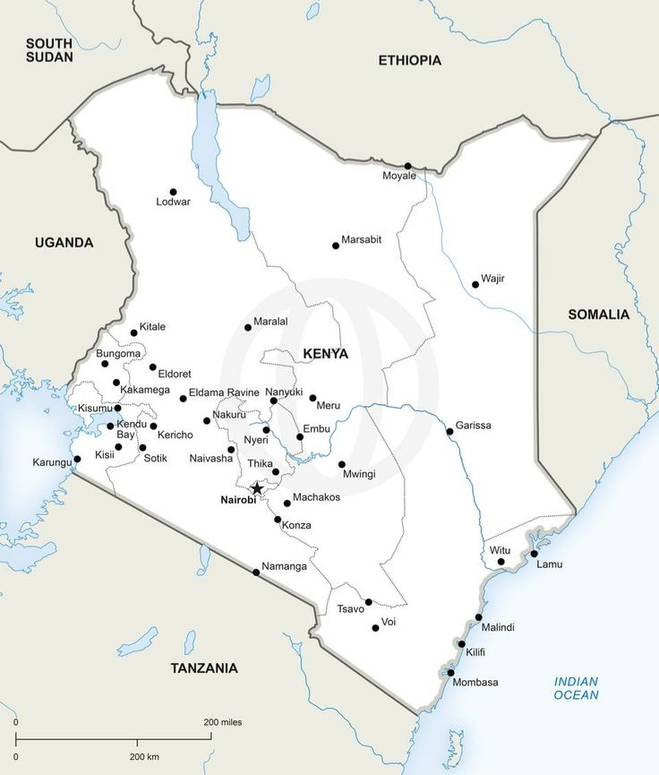 Map Of Kenya   Download Free And Premium Printable And Editable Maps