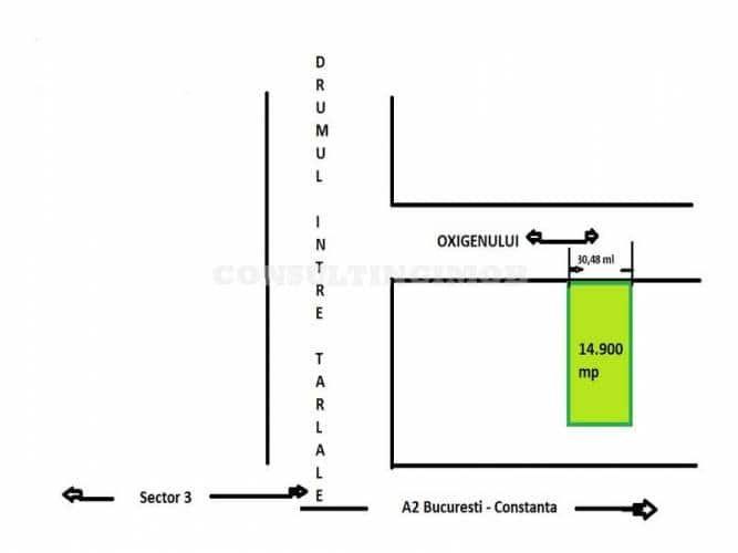 ID: 16669,Oxigenului, teren 14.900 mp, deschidere la strada 30,48 mp, utilitati la limita proprietatii. Recomandat pentru hala, depozit, show-room, birouri. Pret: 75 Euro/mp. Alte costuri: comision agentie conform Contract prestari servicii, taxa notariala. Program vizionare: zilnic intre orele 9,30-18,30, cu programare in prealabil  https://maxhome.ro/wp-content/uploads/2018/01/-maxhome.ro-Anunturi-Imobiliare-gratuite-_1-5.jpg     Mai multe detalii maxhome.ro