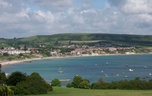 Swanage - memories of family holidays as a kid. Lovely beach but donkeys are long gone.
