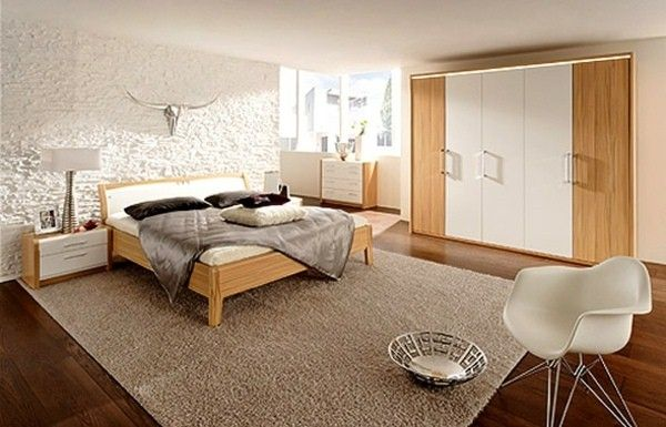Contemporary bed wood bedroom furniture