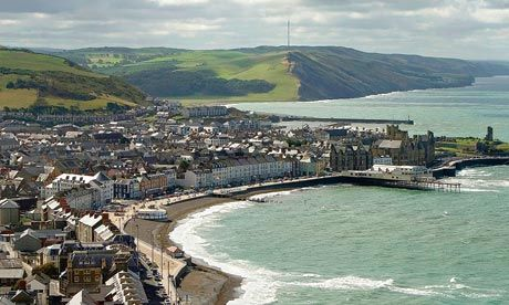Aberystwyth, Ceredigion: the Biarritz of Wales...home!