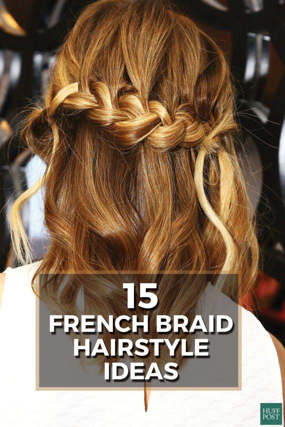 Fresh takes on the French braid