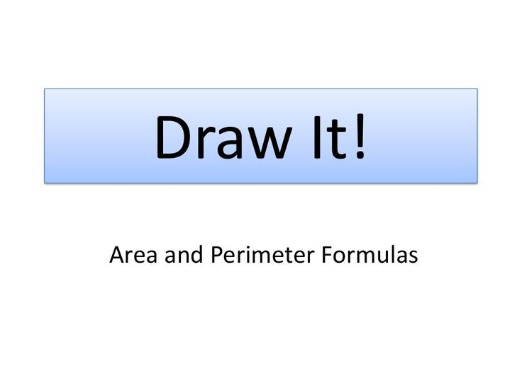 area-formulas-draw-it by Julie Reulbach via Slideshare
