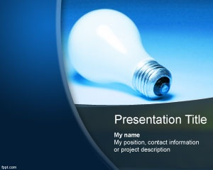Free project idea for PowerPoint presentations