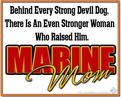 Marine mom                                                                                                                                                     More
