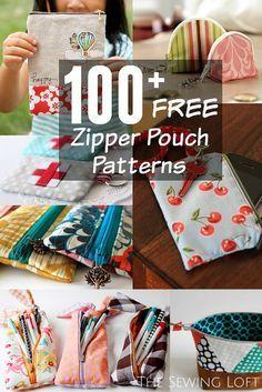 Flower Zipper Pouch Pattern - The Sewing Loft