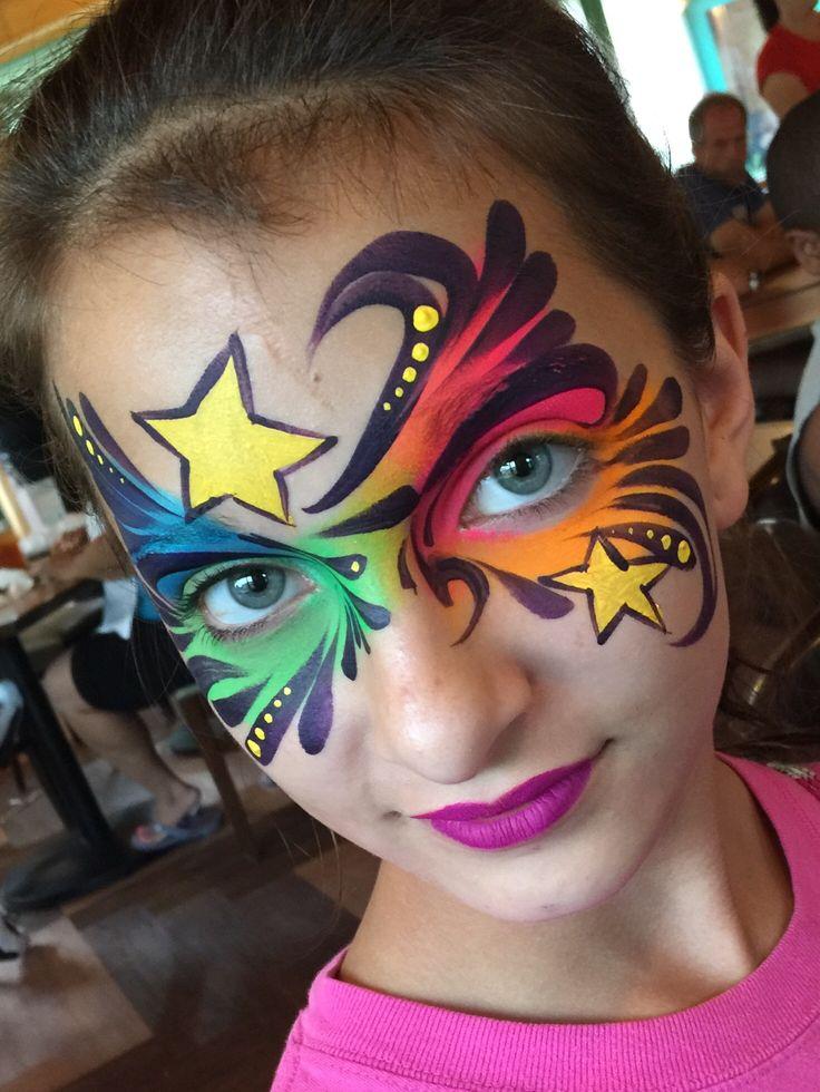les 856 meilleures images du tableau maquillage enfant sur pinterest peintures de visage. Black Bedroom Furniture Sets. Home Design Ideas