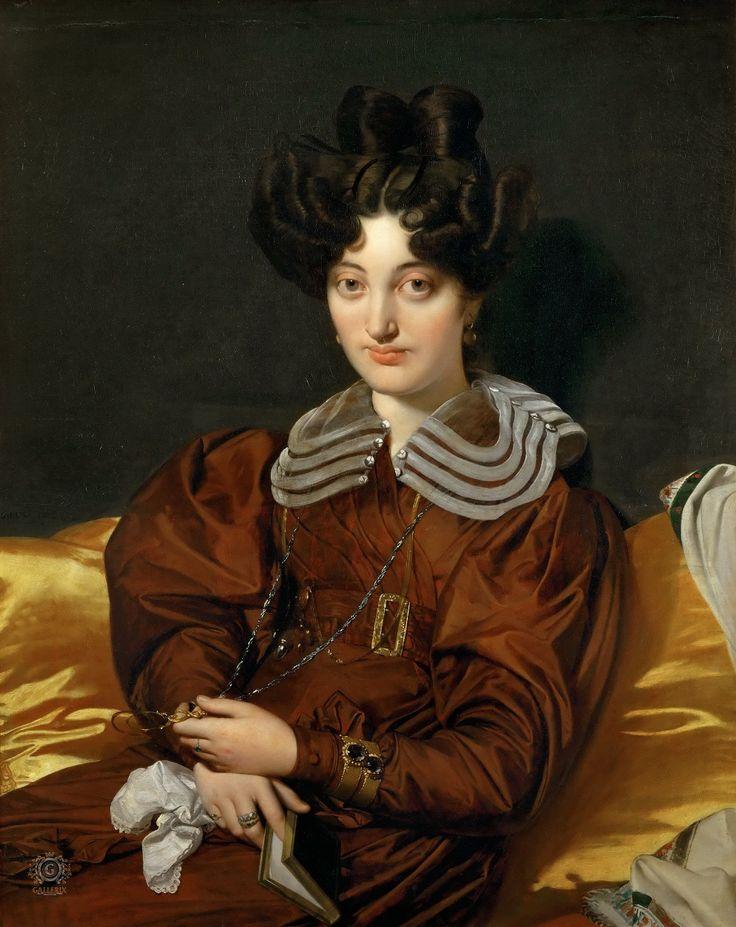 Энгр, Жан-Огюст-Доминик (1780 Монтобан - 1867 Париж) Мадам Маркотт де Сен-Мари