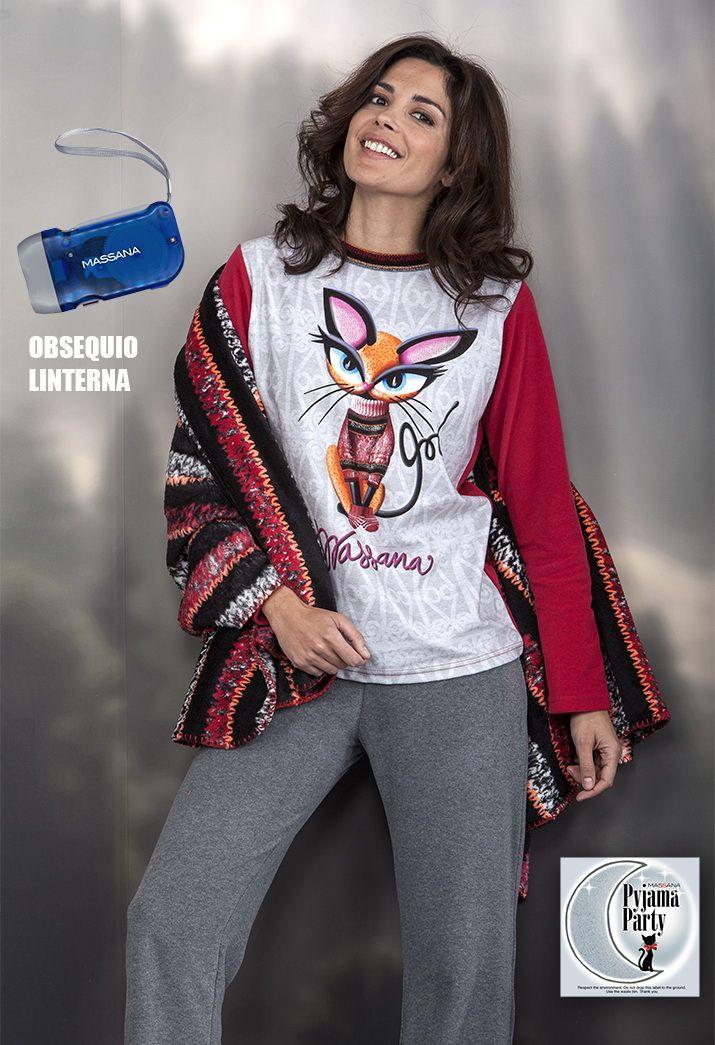 Pijama mujer terciopelo Massana