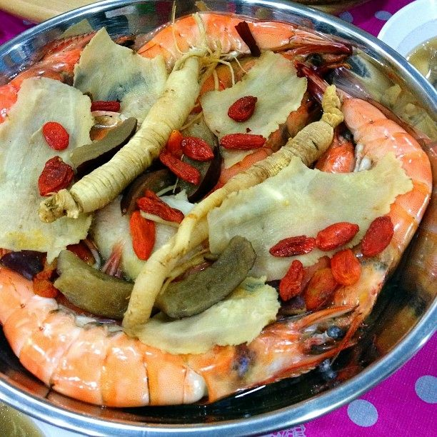 72 best prawnscalamaricrabs images on pinterest chinese food 5 new recipes pre chinese new year dinner gathering steamed ginseng prawns forumfinder Choice Image