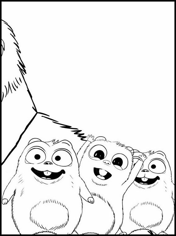 Printable Coloring Pages For Kids Grizzy And The Lemmings 4 Printable  Coloring Book, Coloring Books, Online Coloring Pages