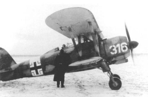 Completely outdated as fighter aircraft, after 1943 the Italian biplane Fiat CR.42 surprisingly knew a new life into the Luftwaffe. On the model of the Soviet Forces, the Luftwaffe in fact established some units (Nachtschlachtgruppen) for night harassment beyond the Allied lines and anti-partisan roles equipped with various type of airplanes some outdated, but well suitable for this type of missions