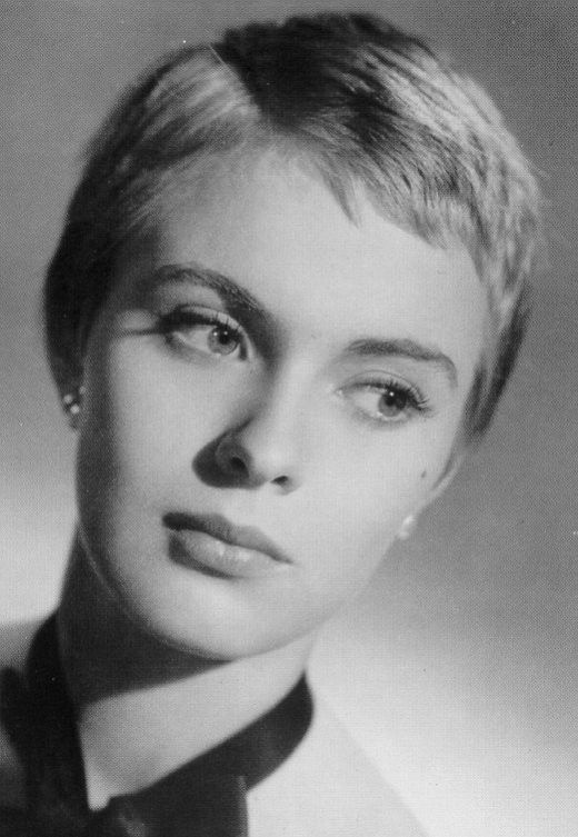 Jean Seberg.So gorgeous.Loved her hairstyle.