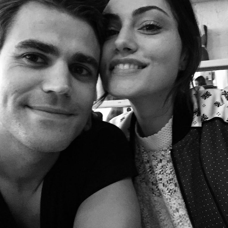 The Vampire Diaries ... Paul Wesley and Phoebe Tonkin as Stefan and Hayley
