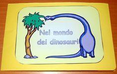 Libro fai da te: il lapbook dei dinosauri