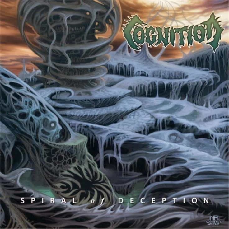 GERATHRASH - extreme metal: Cognition - Spiral Of Deception (2014) | Industral...