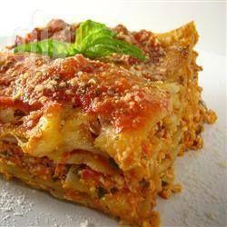 Recipe photo: Vegan Lasagne