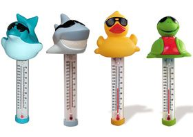 Money saving spa accessories. Take a look at fun hot tub thermometers :)