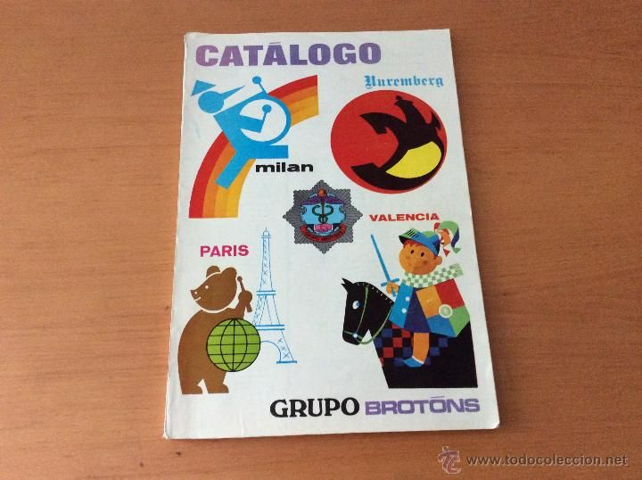 CATALOGO JUGUETES GRUPO BROTONS 1972 SEAT 600 SANCHIS