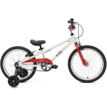 ByK E-350 18 inch Kids Bicycle, Red