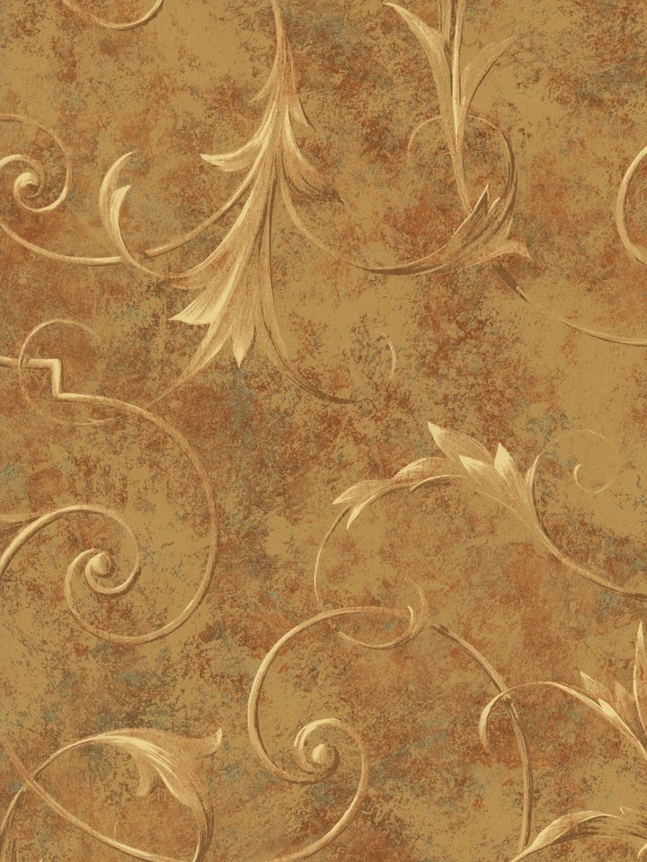 leaf scroll wallpaper vintage patterns - photo #6