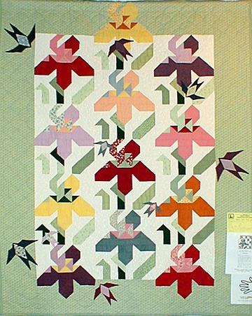 Iris quilt pattern Quilts - Iris, mostly antique Pinterest