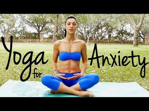 20 Minute Relaxing Yoga for Happiness | Melt Away Anxiety & Stress - YouTube