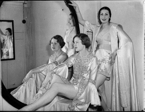 Grace Bros mannequin parade, November 1936, Sam Hood, Home and Away Collection, image courtesy State Library New South Wales, Australia