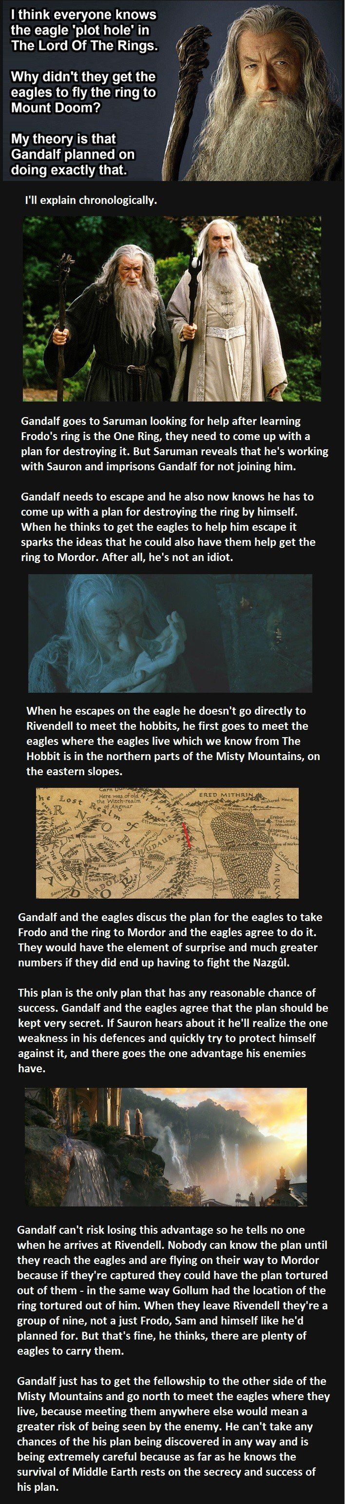 Awesome LotR Eagles theory! (click through for part 2)