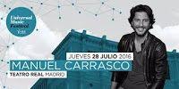 RADIO   CORAZÓN  MUSICAL  TV: MANUEL CARRASCO: ANUNCIA NUEVO CONCIERTO EN MADRID...