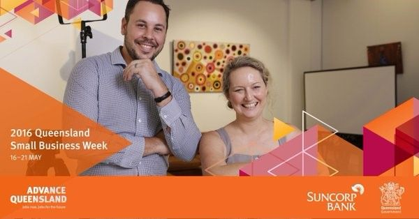 It's Queensland Small Business Week. So excited to see Queensland businesses getting fit for change.   You can get involved in Queensland Small Business Week here: bit.ly/1ZfrNcA
