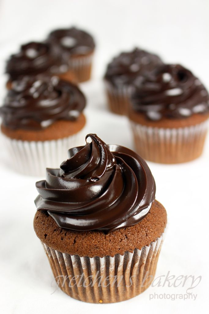 Double Chocolate Fudge Cupcakes | Gretchen's  Bakery
