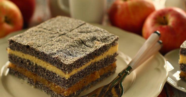 Ajándékba készült ez a sütemény, ami nem más, mint az itt található Almás mákpite és az itt található Eszterházy szelet házasítása. ...