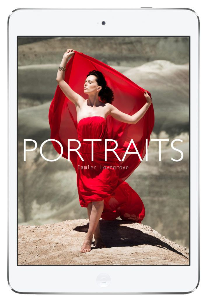 PORTRAITS - Photography eBook by Damien Lovegrove